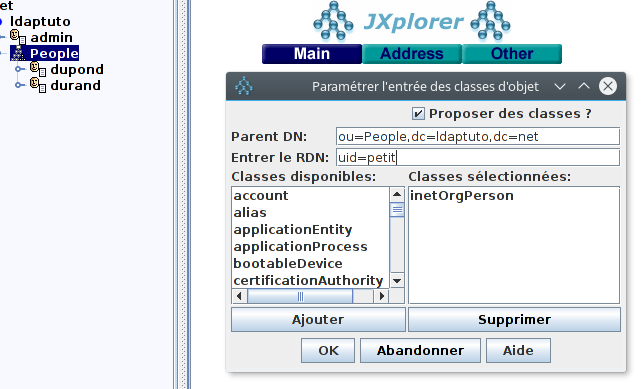 Openldap tutorial jxplorer