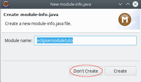 eclipse modules java